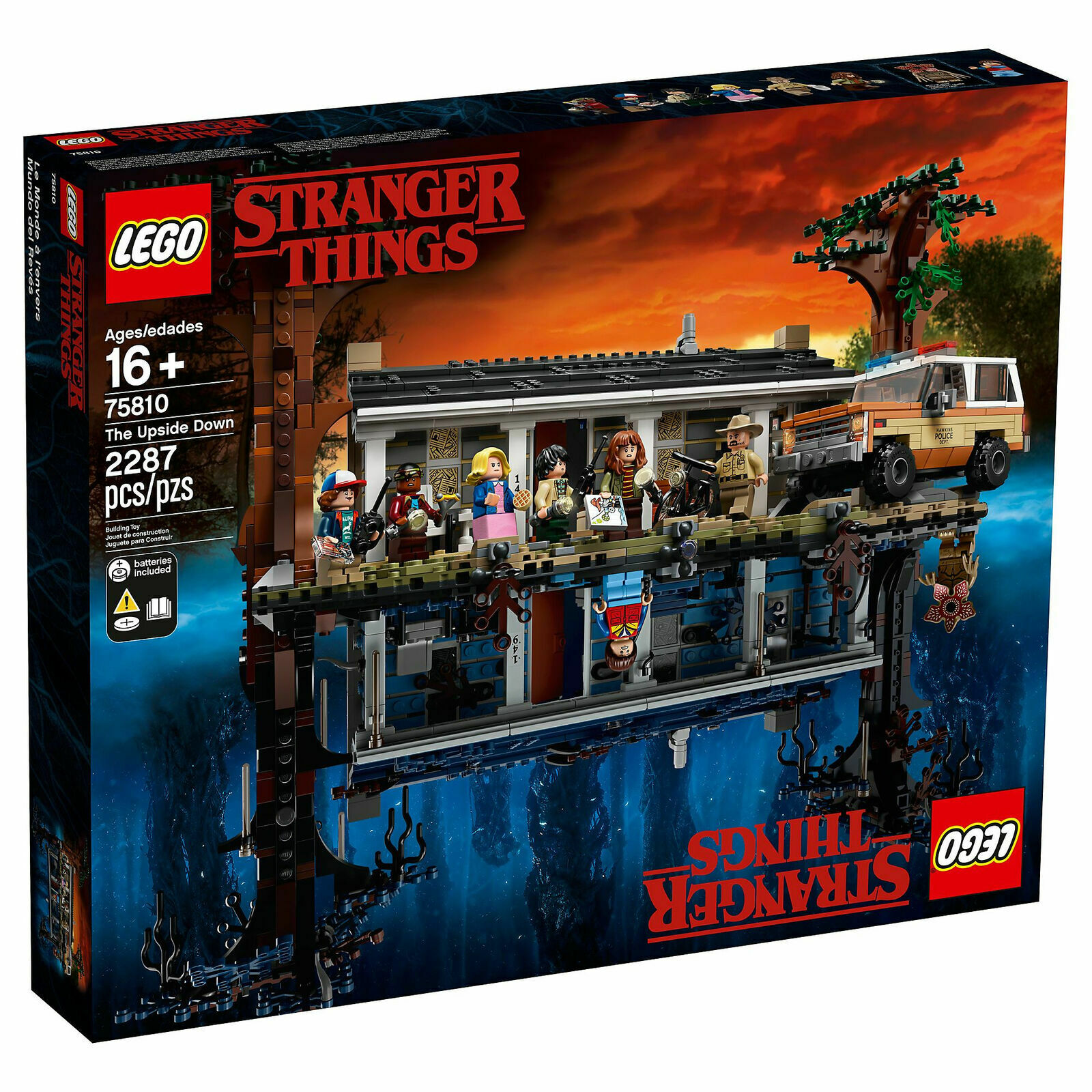 LEGO EXCLUSIVE The Stranger Things  The Upside Down  (75810) SEALED  autorizzazione ufficiale