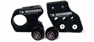 Yamaha-Banshee-350-YFZ350-slide-and-guide-kit-BLACK-slider-roller-TM-Designworks