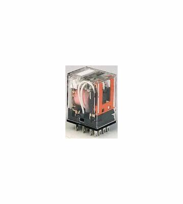 OMRON Relay DPDT MY2 plus 19Y8W3 Base 110//120VAC Coil