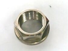 APRILIA RSV4R RSV1000 FACTORY   FRONT AXLE FLANGED NUT TITANIUM M25X1.5 R2D4