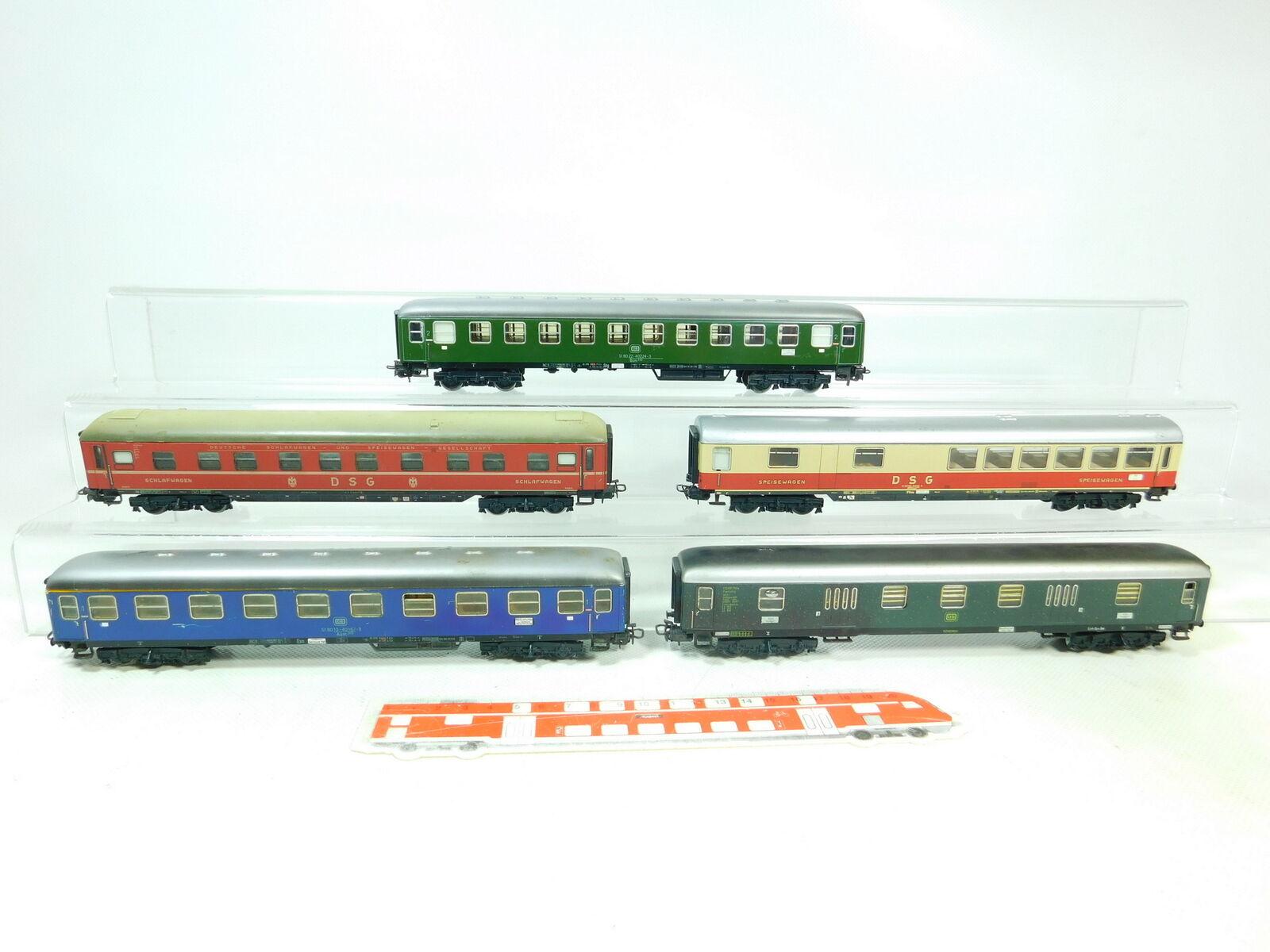 Bt587-2 x Märklin H0 AC Passenger Car etc. DB   DSG   Aüm 202 , 2nd Choice
