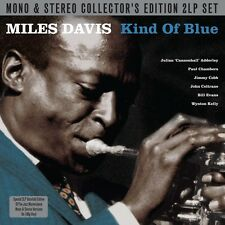 MILES DAVIS - KIND OF BLUE-MONO & STEREO VERSIONS (180G VINYL) 2 VINYL LP NEU