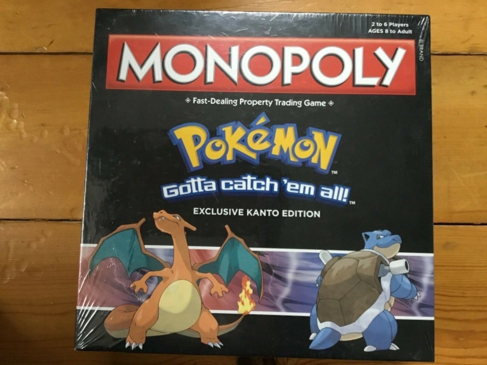 Hasbro Monopoly USAopoly Pokemon Kanto Edition Exclusive, sealed