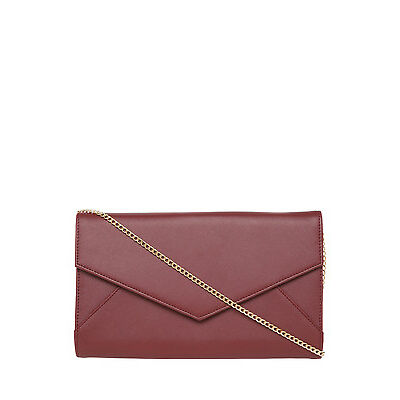 NEW Collection GH16-1987 Edie Clutch Burgundy