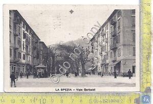 Cartolina - Postcard - La Spezia - Viale Garibaldi - animata - 1930 - Italia - Cartolina - Postcard - La Spezia - Viale Garibaldi - animata - 1930 - Italia