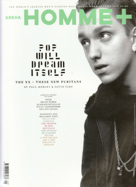 ARENA HOMME PLUS S/A 2010 THE XX OLIVER SIM These New Puritans BRUCE WEBER @New@