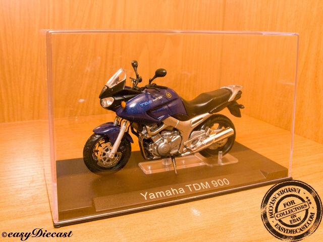 YAMAHA TDM-900 2003 blueE 1 24 RARE&MINT