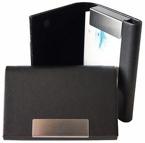 Visitenkartenetui-edel-Magnetverschluss-Visitenkartenhalter-Visitenkartenbox