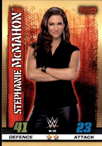 Stephanie McMahon WWE Slam Attax RAW 10th Edition 129 Nr