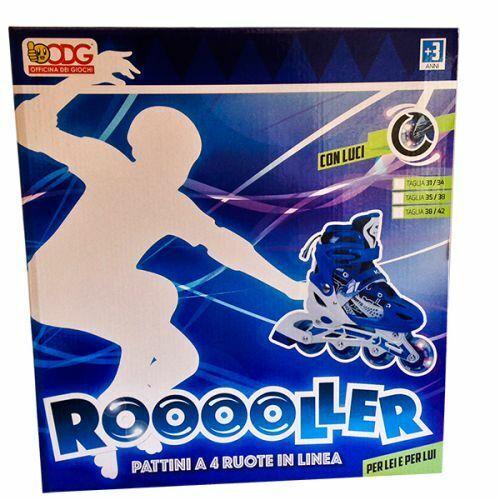 Taglia 35-38 Rooooller Blu ODG ODG164 Pattini in Linea