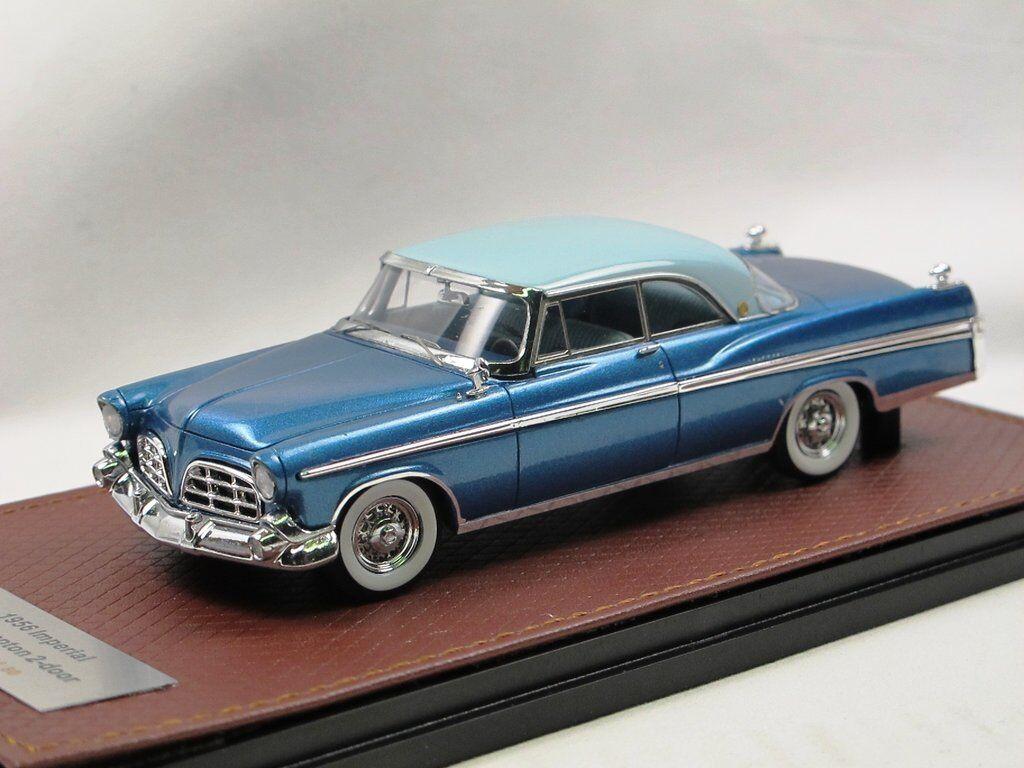 Bma - 1956 imperial southampton - hardtop grau   Blau 1 43 nur 80 stk.