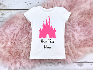 Womens Floirda Castle Top Trip T Shirt Personalised Florida
