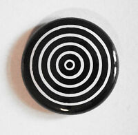 """1"""" (25mm) 'Black and White' Button Badge"""