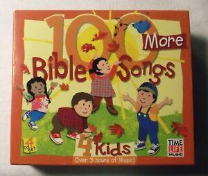 100-More-Bible-Songs-4-Kids-CD-Set-Time-Life-Music-4-CD-Set