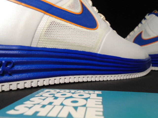 Nike LUNAR AIR FORCE MEDICOM 1 FUSE NRG MEDICOM FORCE blanc Bleu ORANGE GOLD 573980-104 10.5 39a8e0