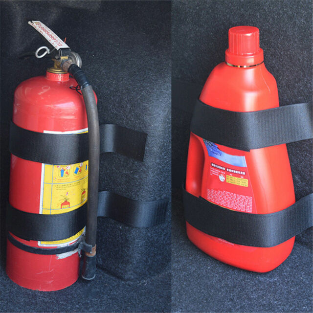 Car Fire Extinguisher >> Universal Car Fire Extinguisher Fixing Band Holder Mounting Belt Cage Bracket
