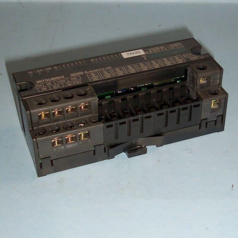 MITSUBISHI MELSEC 24V DC INPUT UNIT AJ65SBTC4-16D PZF