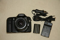 Digitale Kamera Canon 40D aus der Serie EOS / Objektiv