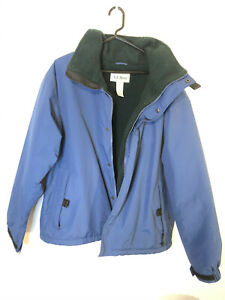 VTG LL Bean Mens Winter Coat Jacket Blue Thinsulate Gore ...