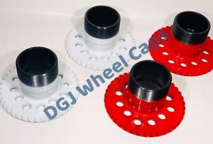 Details about 4 Lug Lowrider Wire Wheel Adapters 4x100/4.25/4.5 on