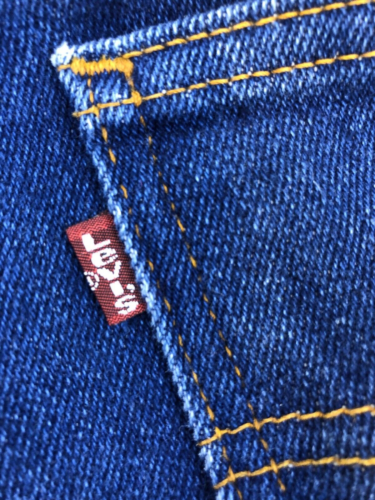Vintage Levis 508 33X29 Made In USA - image 4