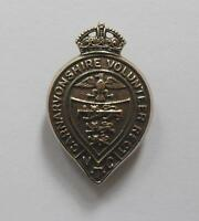 BRITISH ARMY CAP BADGE. CAERNARVONSHIRE VOLUNTEER REGIMENT.