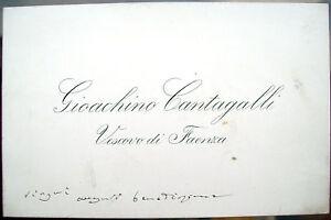 1900-VESCOVO-DI-FAENZA-GIOACHINO-CANTAGALLI-RARO