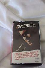 VTG RARE Backward Playing Cassette Tape Wayne Newton Capitol Records Factory Err