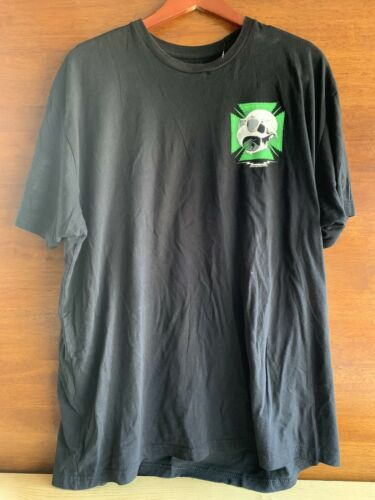 "Baker Skateboards T Shirt 2XL XXL Rare ""HOLE In Th"