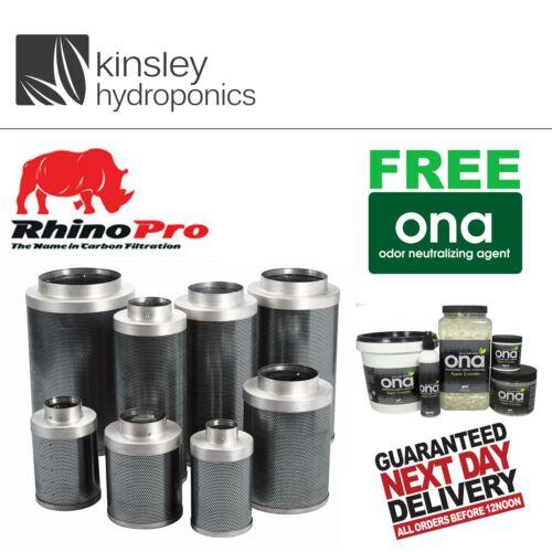"""6 /"""" 150 x 600mm rhino pro filtre de charbon professionnels hobby cultivateurs hydroponics"""