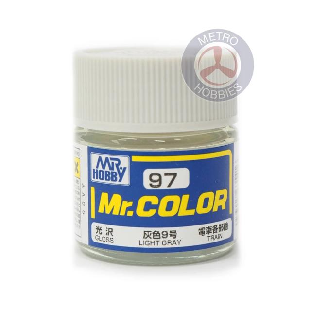 Gunze C097 Mr Color Gloss Light Grey Brand New