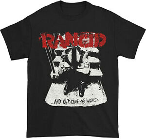 RANCID T-Shirt And Out Come The Wolves Distressed New Officially Licensed S-3XL
