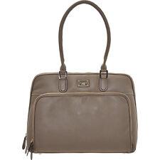 new 100% real leather PAUL COSTELLOE laptop bag tote handbag-office-work bnwt