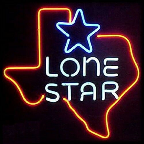 Texas lone star neon bar light sign 16 x 16 ebay aloadofball Image collections