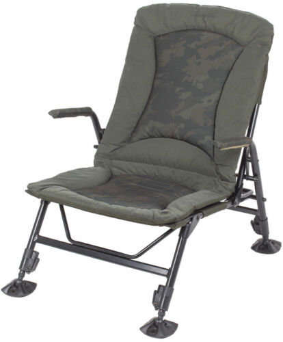 Brand New 2017 Nash Indulgence Sub Lo Low Camo Chair T9753
