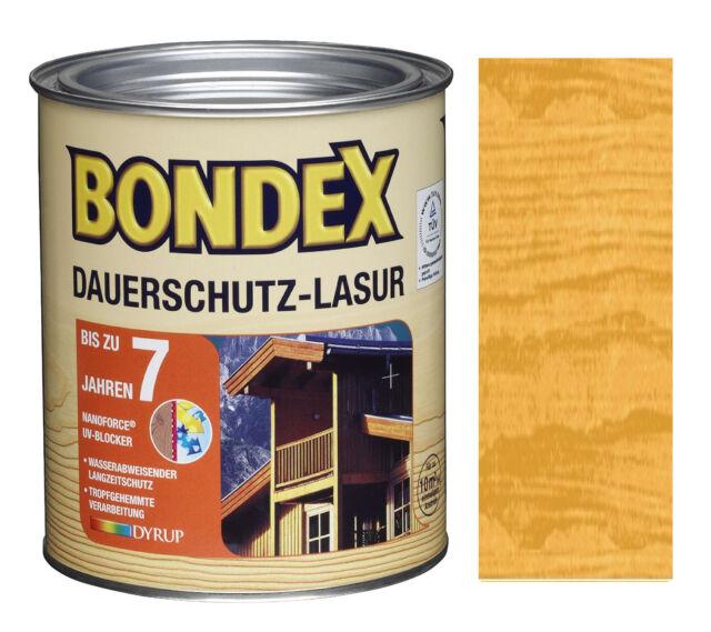 Bondex Dauerschutz Lasur 2 50 L Eiche Hell Ebay