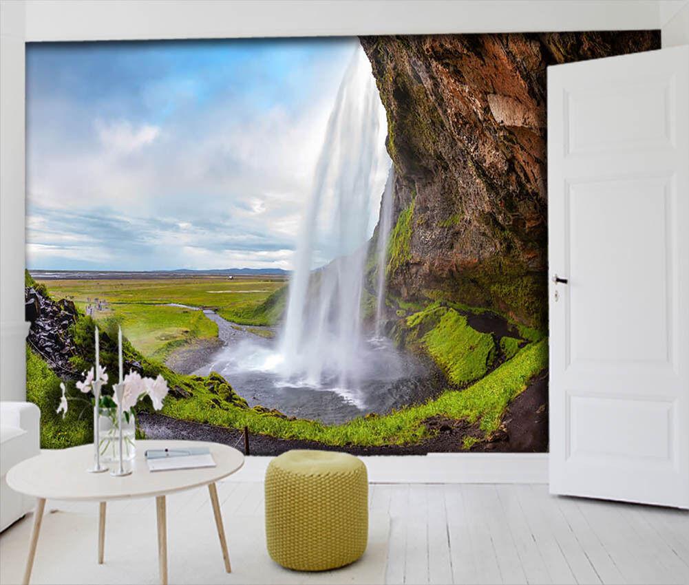 Beautiful Waterfalls 3D Full Wall Mural Photo Wallpaper Printing Home Kids Decor