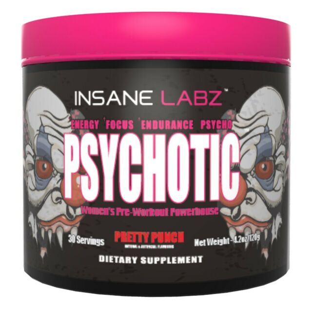 INSANE LABZ PSYCHOTIC HERS 30 Servings