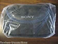 GENUINE SONY LCS-X11 Soft Handycam Camera Carrying Case Travel Bag NEW Sealed