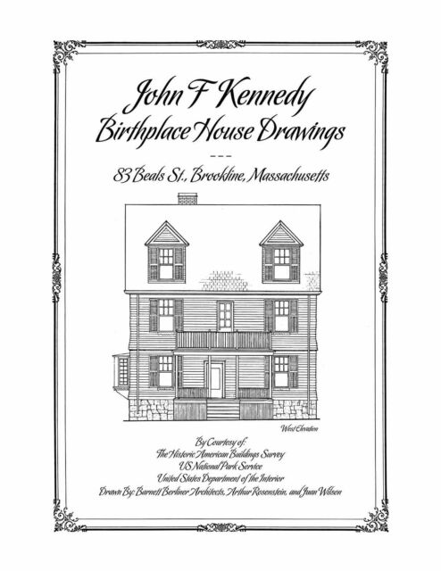 architectural house drawing. Beautiful House The John F Kennedy Birthplace House Drawings Architectural Plan Drawings On Drawing