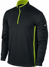 NIKE GOLF THERMA-FIT PULLOVER FLEECE JACKET 1/2 ZIP 880209 010 L