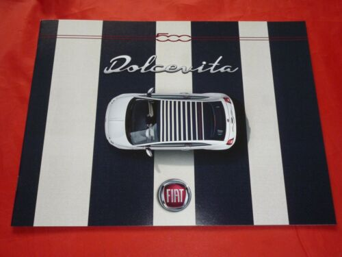 "FIAT 500 /""Dolcevita/"" Sondermodell Prospekt Brochure von 2019"