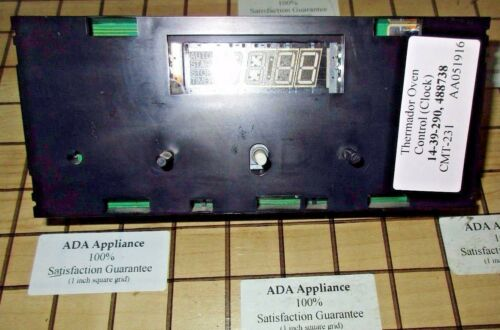 488738 FREE EXPD SHIP Thermador CT//CMT Oven Control//Clock 14-39-290