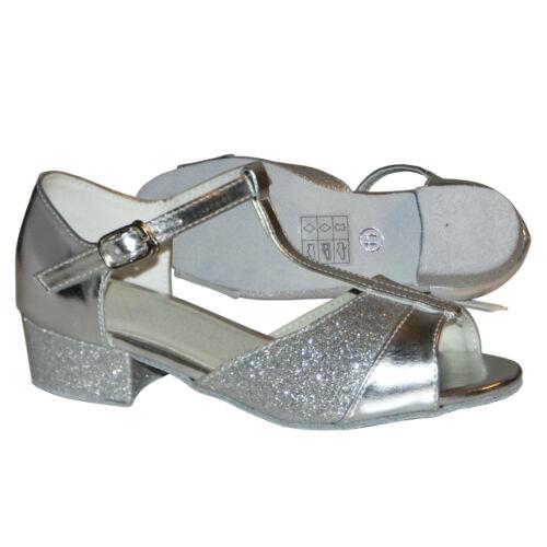scarpe ragazze Dimensione latino Ballroom a Uk 5 per da ballo 8 SwRwqZT