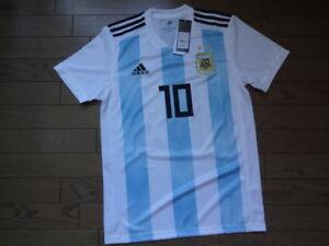 7cb481e2d Argentina  10 Messi 100% Original Soccer Jersey Shirt 2018 Home S ...