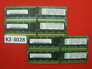16gb Hp 345115-861 Hynix Hymp 351r72amp4-e3 Pc2-3200r 4x4gb Ddr2 Ecc #kz-3028--e3 Pc2-3200r 4x4gb Ddr2 Ecc #kz-3028 Fr-fr Afficher Le Titre D'origine