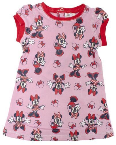 Filles Robe Minnie Mouse été à manches courtes Disney pour bébé 6 To 23 mois