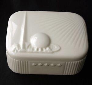 1939 new york worlds fair lenox china ivory trinket box ebay