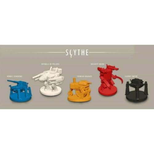 Scythe Board Game By Stonemaier Games English Retail Edition