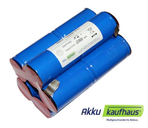 Lampen ä 8AH 12V Akkupack NewTecs für Hartenberger